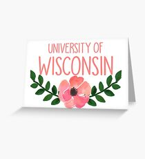University of Wisconsin Greeting Card