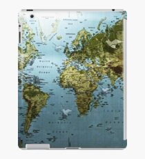 Birds and Maps FTW iPad Case/Skin