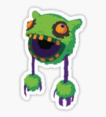 Big Mouth Piñatamon Sticker