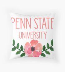 Penn State University Throw Pillow