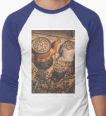 Old coffee brew house beans T-Shirt