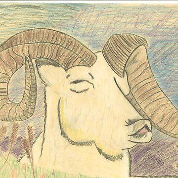 Happy Ram by BuzzardBait