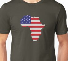 African American Africa United States Flag Unisex T-Shirt