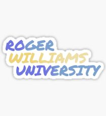 Roger Williams University Sticker