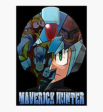 Mega Man - Maverick Hunter X Photographic Print
