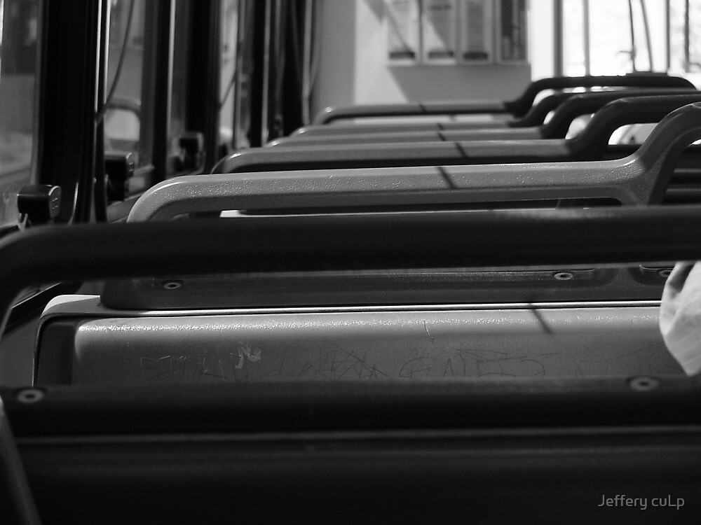 back of the bus you sit. by Jeffery cuLp