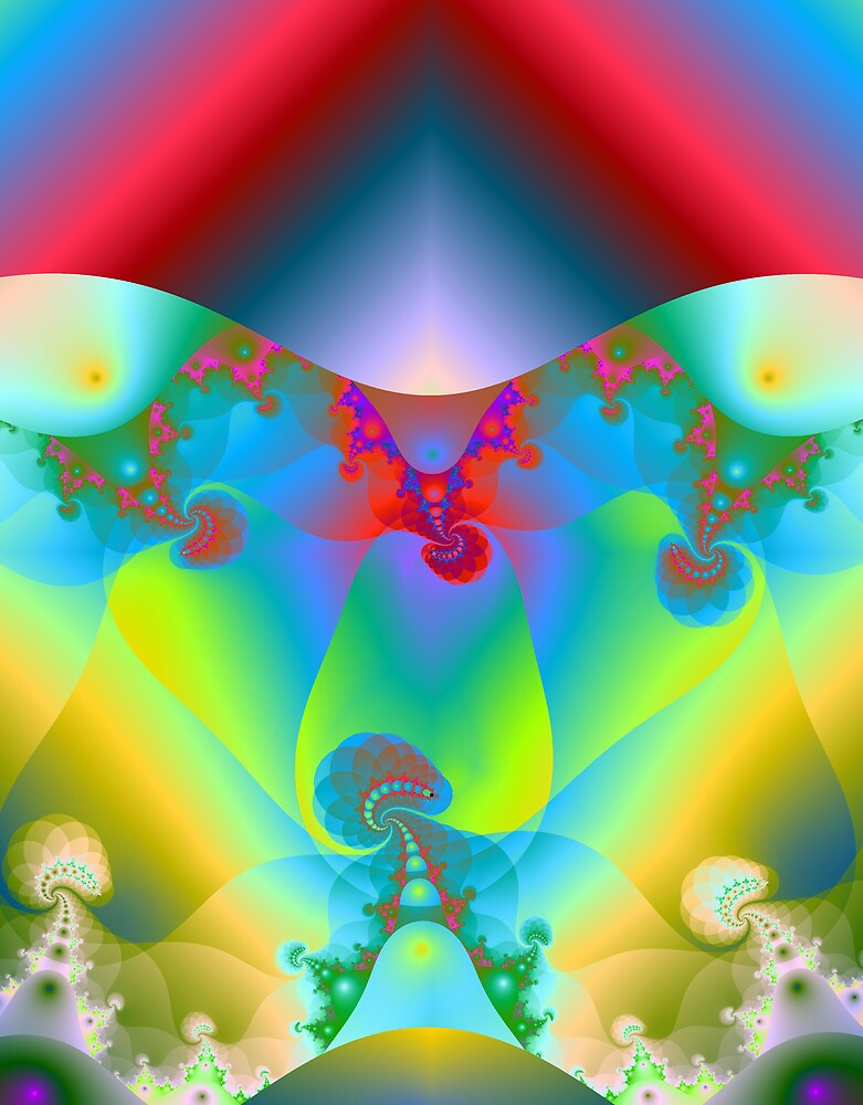 Fractal Image 7 by Terry Krysak
