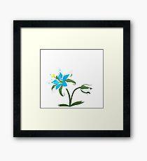 Breath of The Wild - Flower Framed Print