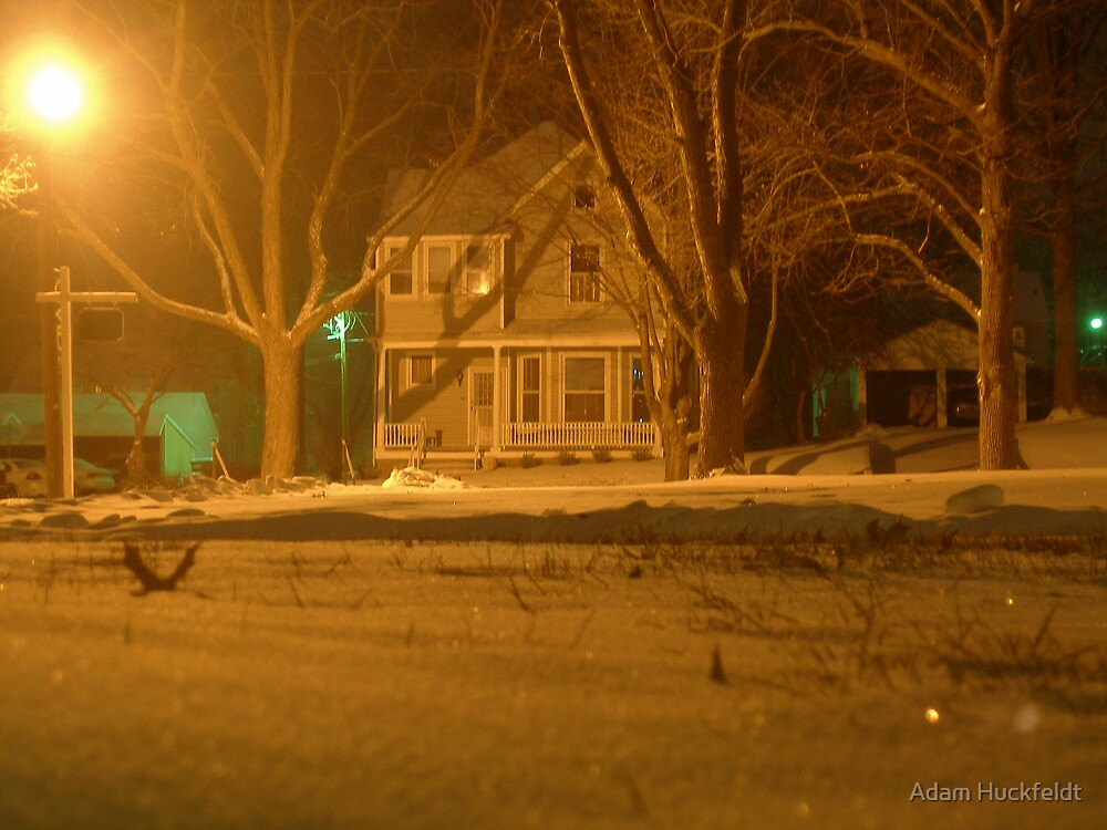 A Cold, Slient Night by Adam Huckfeldt