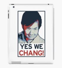 Yes We Chang! iPad Case/Skin