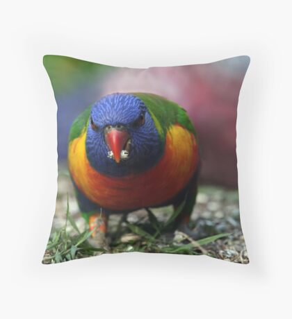 Breakfast on the Lawn Throw Pillow