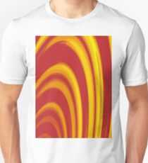 Burning Paper Hoops T-Shirt