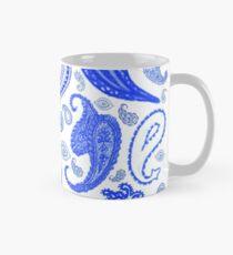 Paisley Blue by Julie Everhart Classic Mug