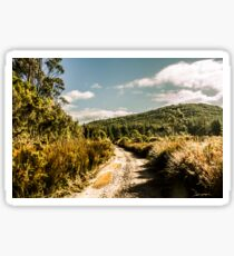 Rural paths out yonder Sticker