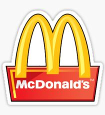McDonald's Sticker