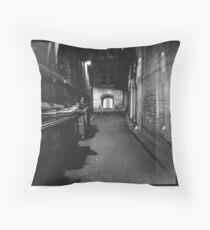 Bridge Street Alley Throw Pillow