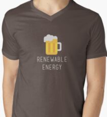 Renewable Energy Men's V-Neck T-Shirt