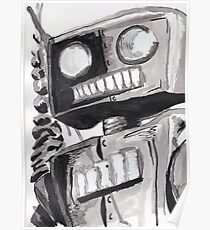 Hungry Robot Poster