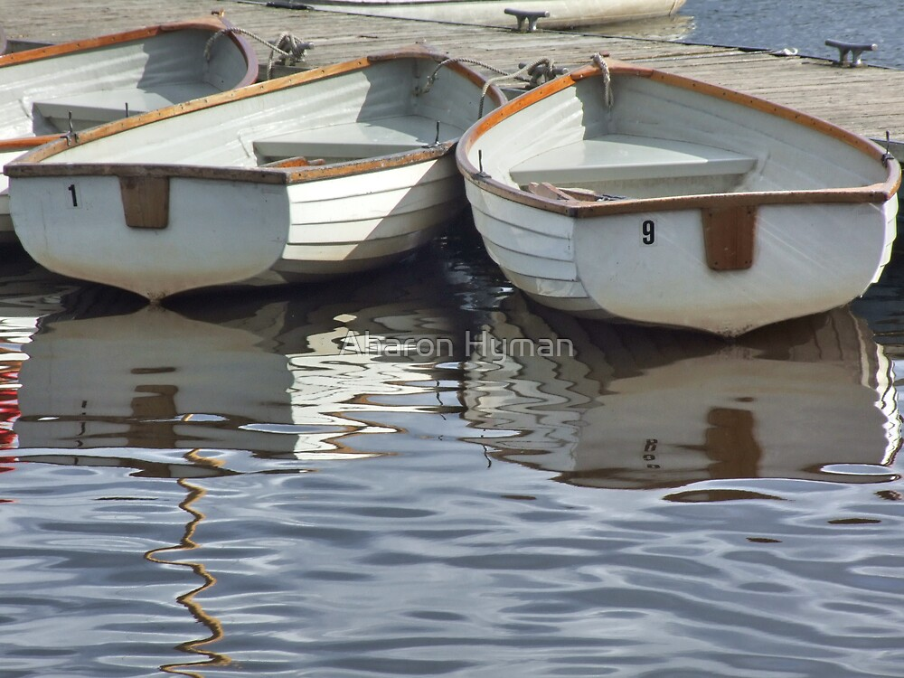 boats by Aharon Hyman