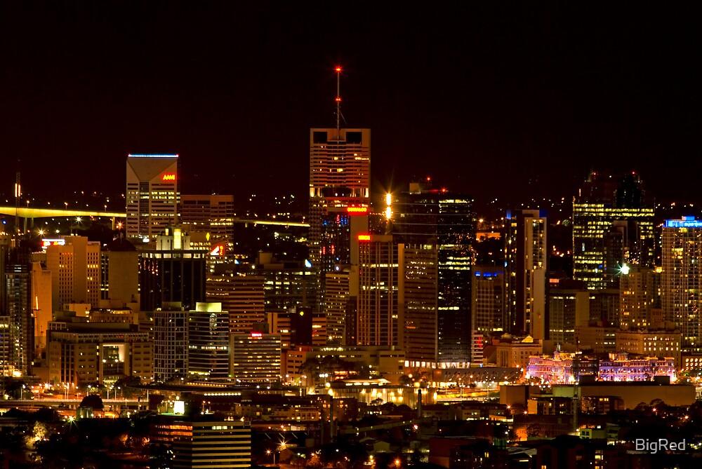 Brisbane City Lights by BigRed