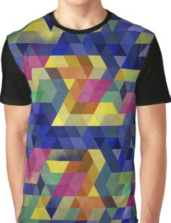 Low Polygon 6 Graphic T-Shirt