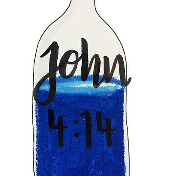 John 4:14, Bible verse by ellietography