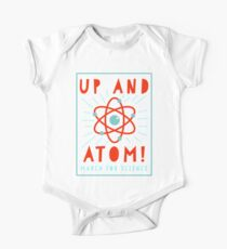 Up and Atom! - March for Science One Piece - Short Sleeve