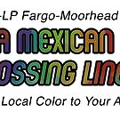 A Mexican Crossing Lines Logo by ChocoboMausi