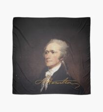 Alexander Hamilton With Signature Scarf