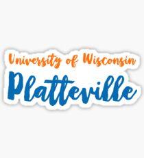 University of Wisconsin Platteville Sticker
