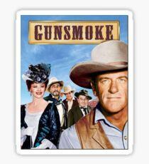 Gun Smoke Sticker Sticker