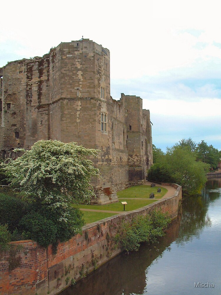 Castle on the River Trent by Mischa
