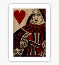 Timber Player - Queen Sticker