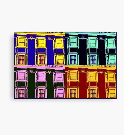 Hotel La Boheme (Pop Art) Canvas Print
