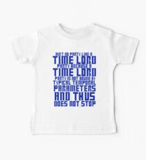 Aint No Party Like a Time Lord Party Baby Tee