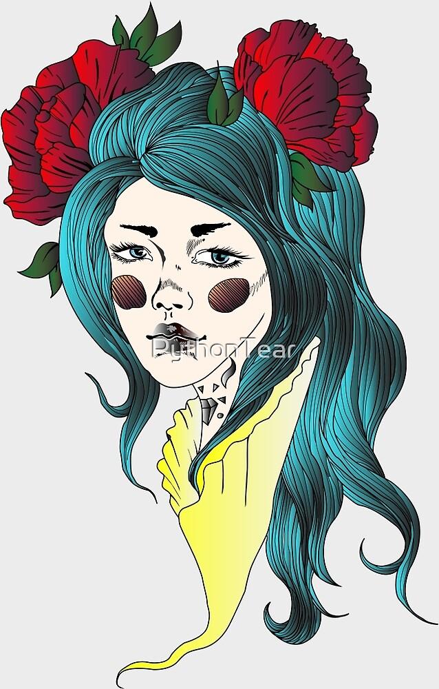 Melancholy-White by PythonTear