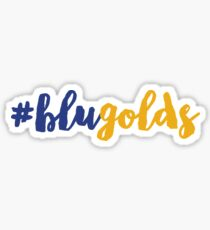 Hashtag Blugolds Sticker