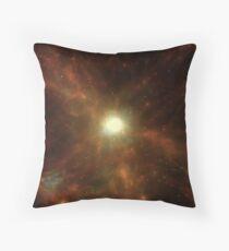 Gassy Cosmic Web Throw Pillow