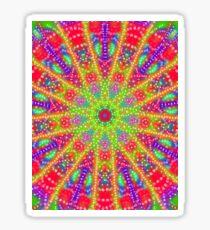 Kalidescope Design Sticker