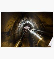 Darwin WW2 Oil Storage Tunnel Poster