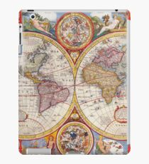 Vintage Antique Old World Map cartography iPad Case/Skin