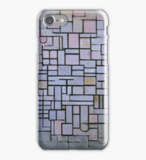 Composition No. 6 Piet Mondrian,  iPhone Case/Skin