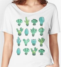 Cute cactus and succulents Women's Relaxed Fit T-Shirt