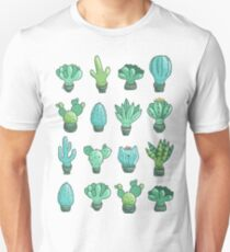 Cute cactus and succulents Unisex T-Shirt