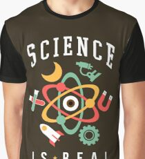 Science Is Real Graphic T-Shirt
