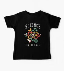 Science Is Real Kids Clothes