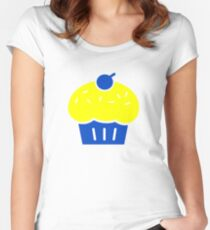 """GSW - KD Kevin Durant Cupcake """"Reverse Troll"""" Shirt Women's Fitted Scoop T-Shirt"""