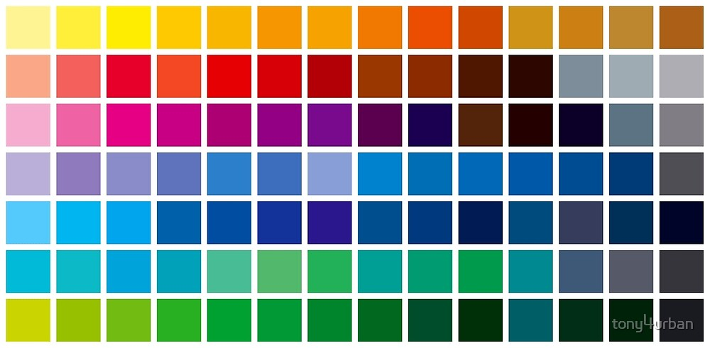 color chart background by tony4urban