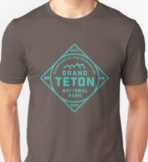 Grand Tetons Unisex T-Shirt