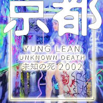 Yung Lean unknown death 2002 vhs  by GlasgowMerch